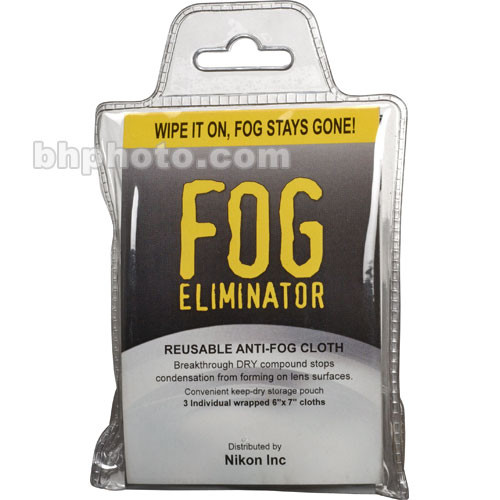 Nikon Fog Eliminator Cloths (3-Pack)
