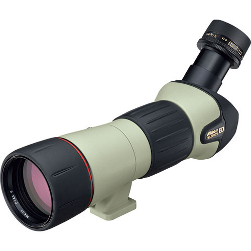 Nikon Fieldscope III ED 20-60x60 Spotting Scope Kit (Angled Viewing)