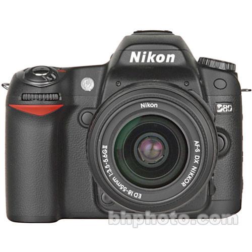 Nikon D80 SLR Digital Camera Kit with 18-55mm Lens