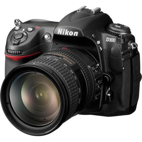 Nikon D300 SLR Digital Camera Kit with 18-200mm Lens