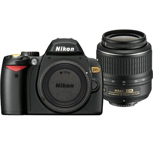 Nikon D60 SE SLR Digital Camera Kit with 18-55mm VR Lens
