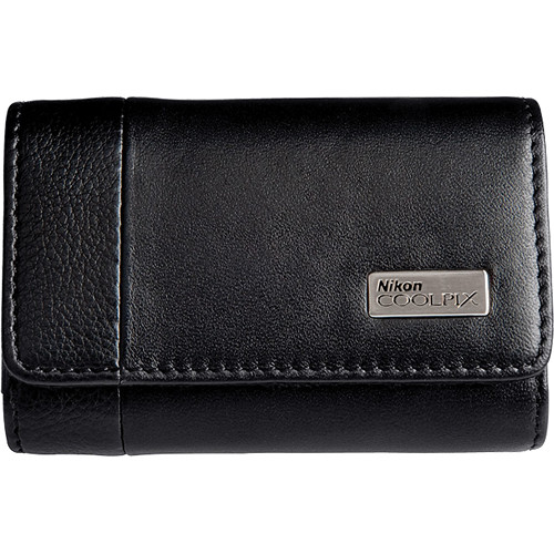 Nikon CoolPix S Horizontal Leather Case for CoolPix S80 Digital Camera