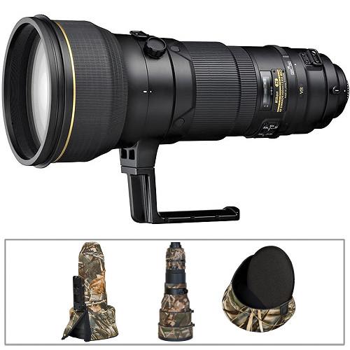 Nikon AF-S Nikkor 400mm f/2.8G ED VR Autofocus Lens Kit A