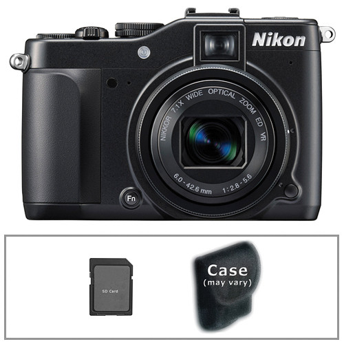 Nikon CoolPix P7000 Digital Camera with Basic Accessory Kit