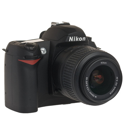 Nikon D70s, 6.1 Megapixel, SLR, Digital Camera Kit with f/3.5-5.6 G-VR DX Lens