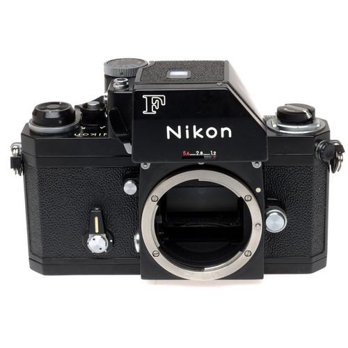 Nikon F Photomic FTN Apollo 35mm SLR Camera Body (Black) with 50mm f/2 Non-AI Lens