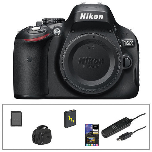 Nikon Nikon D5100 Digital SLR (Body Only) Essential Kit