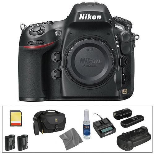 Nikon Nikon D800E Digital SLR Camera Body Deluxe Kit