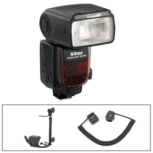 Nikon SB-900 AF Speedlight i-TTL Shoe-Mount Flash Kit