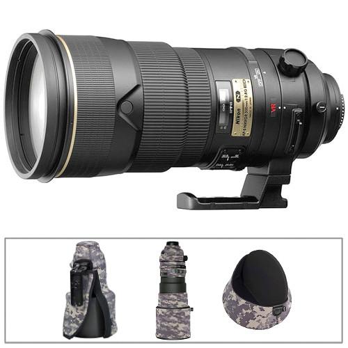 Nikon Telephoto AF-S NIKKOR 300mm f/2.8G ED VR II Lens Kit B