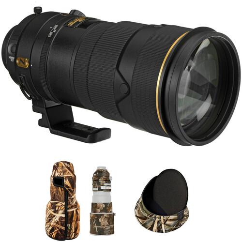 Nikon AF-S NIKKOR 300mm f/2.8G ED VR II Lens with LensCoat Kit