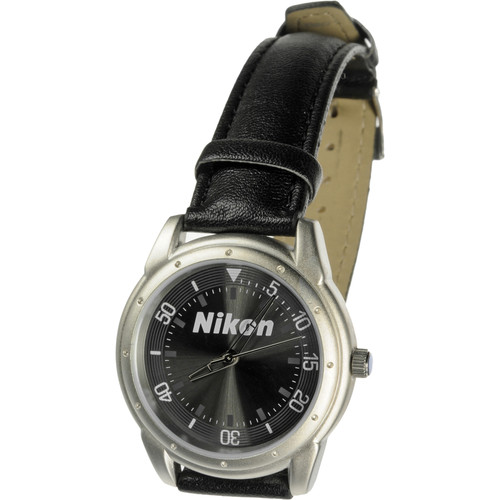 Nikon Wrist Watch w/ Leather Strap