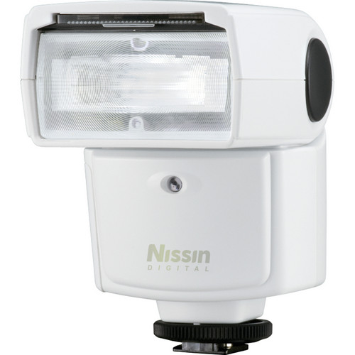 Nissin Di466 Shoe Mount Digital Speedlight For Four Thirds Cameras (White)