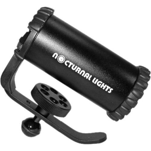 Nocturnal Lights SLX 800i  Video Light  w/ Ball Joint Adapter
