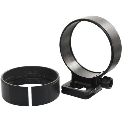 Nodal Ninja R1/R10 Lens Ring for Samyang 8mm f/3.5 Nikon F/Pentax K Mount Fisheye II Lens