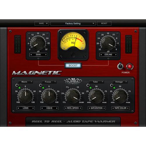 Nomad Factory MAGNETIC - Reel-to-Reel Audio Tape Warmer Plug-In
