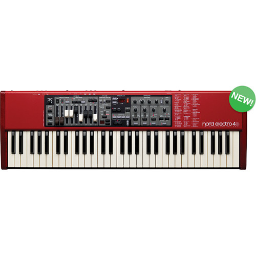 Nord Electro 4D - 61-Note Semi-Weighted Keyboard with USB