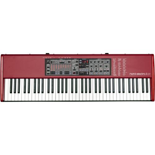 Nord Electro 3 HP - 73-Key Organ, Piano, and Mellotron Instrument (Hammer Action Keys)