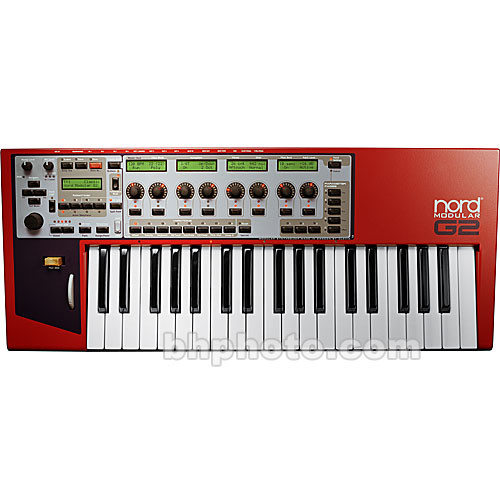 nord nord modular g2 37 key programmable synthesizer nmg2 b h. Black Bedroom Furniture Sets. Home Design Ideas