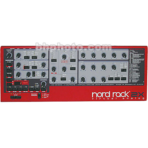 Nord Nord Rack 2X - Rackmount Virtual Analog Synthesizer