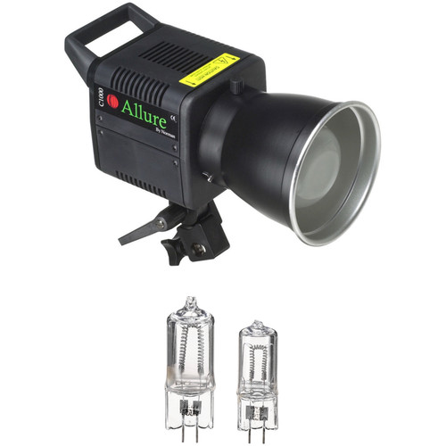 Norman 1000 Watt Open Face Tungsten Light with Bulbs (120V)