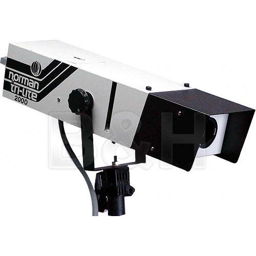 Norman TL-2000 - 2000 Watt/Second Optical Spotlight Lamphead