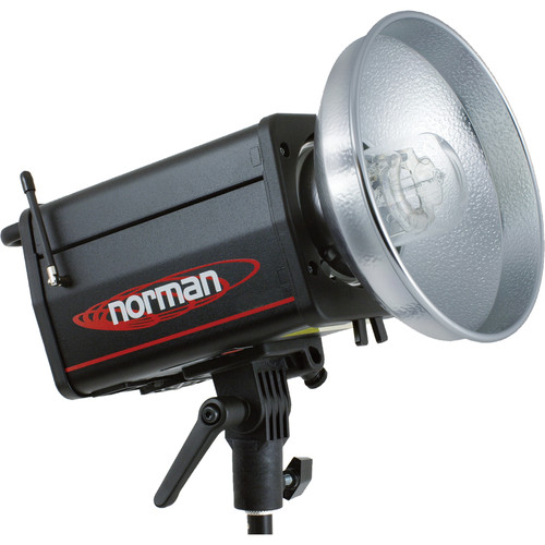 Norman ML400R 400 Watt/Second Monolight, Radio Slave (120V)