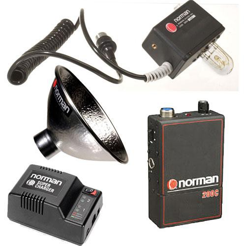 Norman 810797 200 Watt/Second Portable Battery Assembly Kit