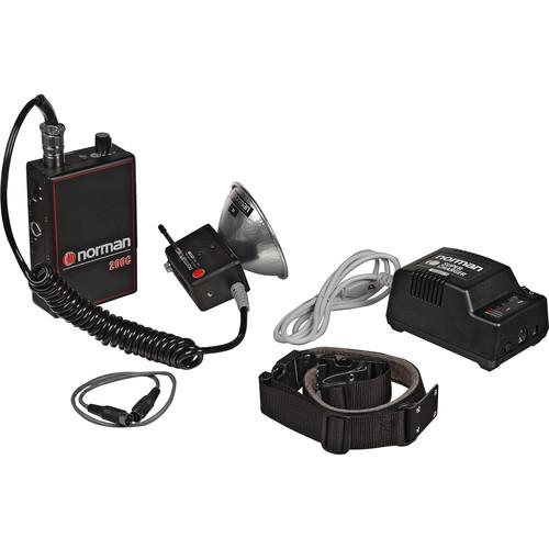 Norman 200 W/S  Battery Assembly Kit, Radio Slave