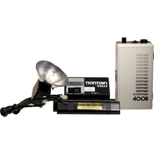 Norman 400 W/S Portable Battery Assembly Kit