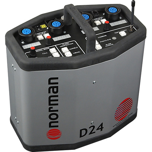 Norman D24R Power Pack with Radio Slave - 2400 Watt/Seconds