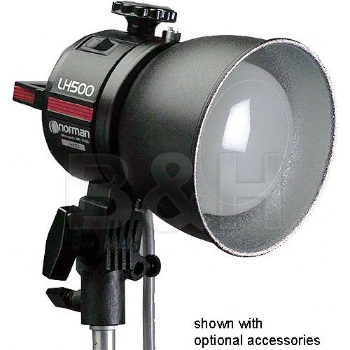 "Norman 811800 5"" Reflector - Type 1 - with Diffuser"