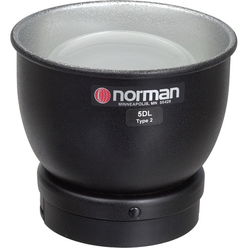 """Norman 811807 5"""" Reflector Type 2 with Dome Diffuser"""