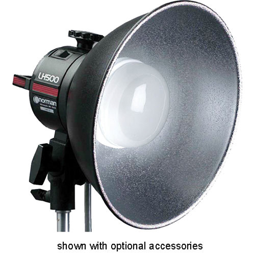 """Norman 10"""" Reflector - Type 1 - with Diffuser"""
