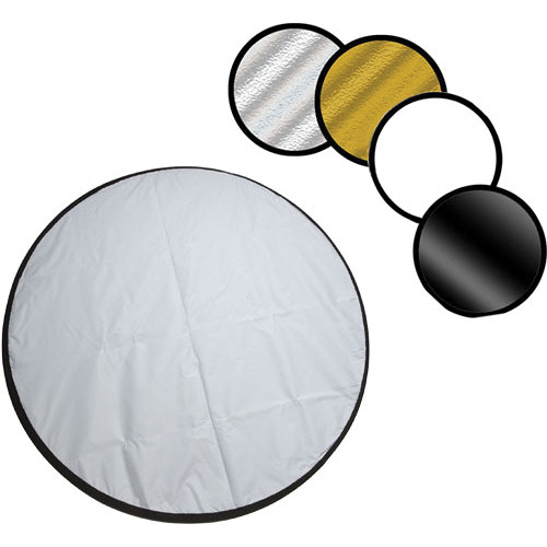"""Norman Collapsible Reflector, 5-in-1 - 42"""" (107cm)"""