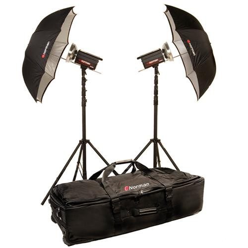 Norman 2 Monolight Travel Kit (120VAC)