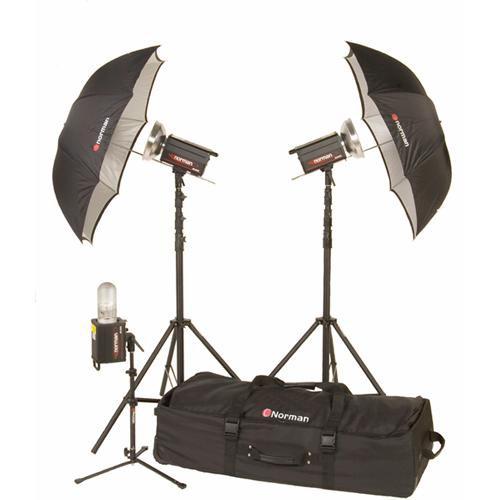 Norman 3 Monolight Travel/Studio Kit (120VAC)