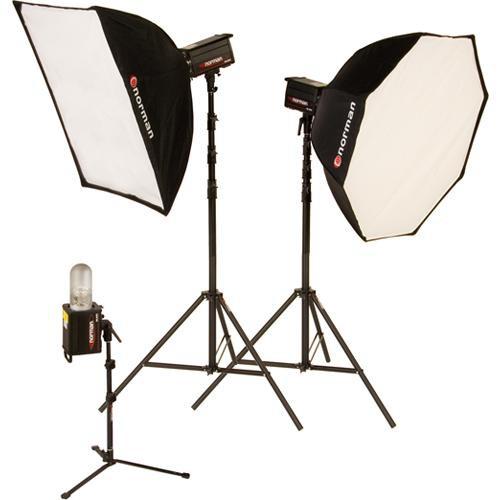 Norman 3 Monolight, Octagon Softbox Kit (120VAC)