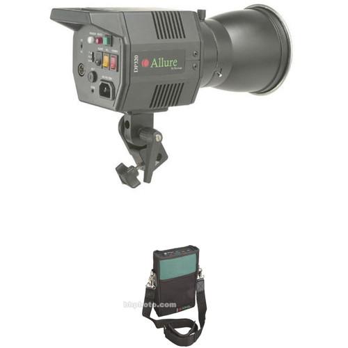 Norman Allure DP320 Monolight with Battery - 320 Watt/Seconds (120VAC/12VDC)