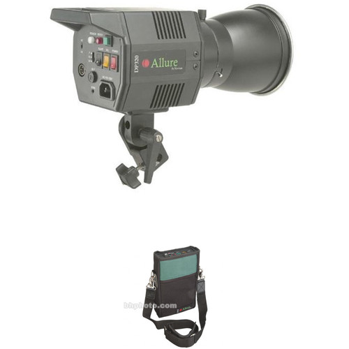 Norman Allure DP320 Monolight with Battery - 320 Watt/Seconds (120VAC/12VDC)