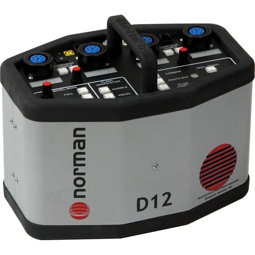 Norman D12 Power Pack - 1200 Watt/Seconds