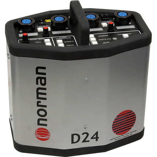 Norman D24 Power Pack - 2400 Watt/Seconds