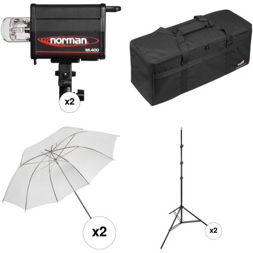 Norman ML400 2 Monolight Kit