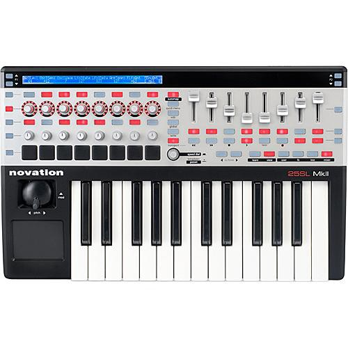 Novation 25 SL MkII  25-Key Remote MIDI Controller
