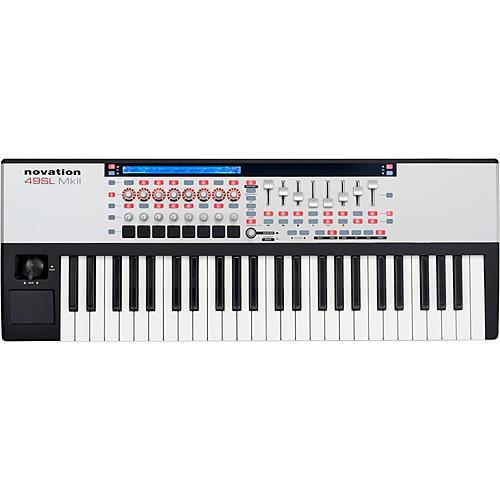 Novation 49 SL MkII  49-Key Remote MIDI Controller