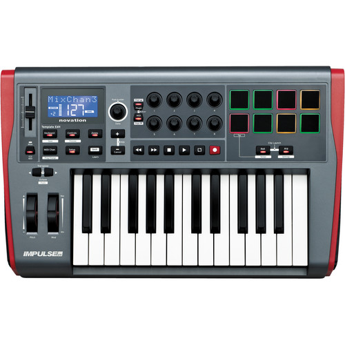 Novation Impulse 25 - USB-MIDI Keyboard