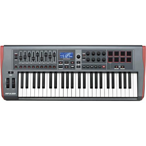 Novation Impulse 49 - USB & MIDI Keyboard Controller