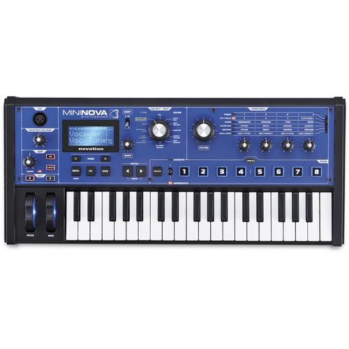 Novation MiniNova 37-Mini-Key Compact Synthesizer