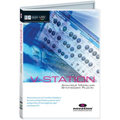 Novation V-Station - Virtual Analog Synthesizer Plug-In