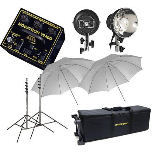 Novatron V240-D 2-Head Fun Kit W/Wheeled Case (120VAC)